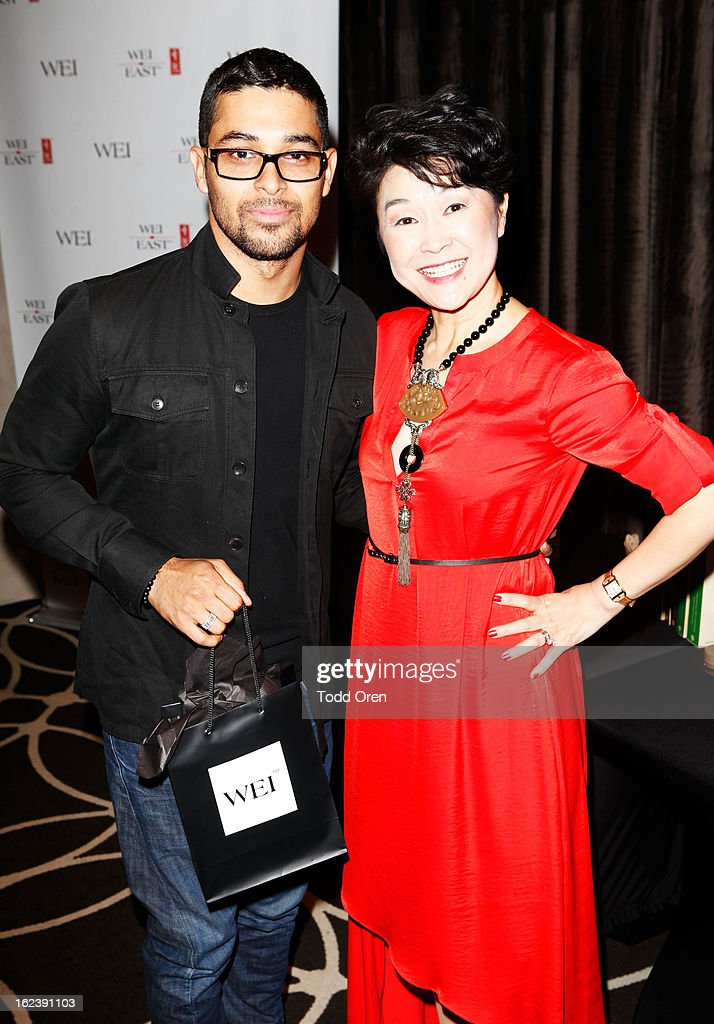 Actor Wilmer Valderrama (L) attends Kari Feinstein's Pre-Academy Awards Style Lounge at W Hollywood on February 22, 2013 in Hollywood, California.