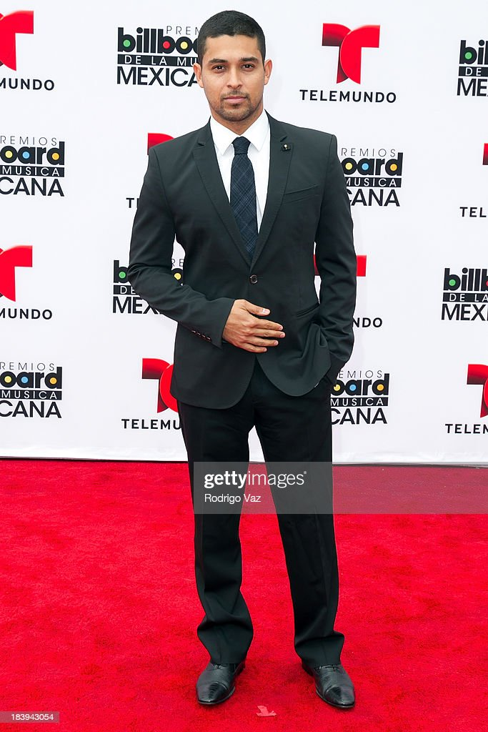 Actor <a gi-track='captionPersonalityLinkClicked' href=/galleries/search?phrase=Wilmer+Valderrama&family=editorial&specificpeople=202028 ng-click='$event.stopPropagation()'>Wilmer Valderrama</a> attends the 2013 Billboard Mexican Music Awards arrivals at Dolby Theatre on October 9, 2013 in Hollywood, California.