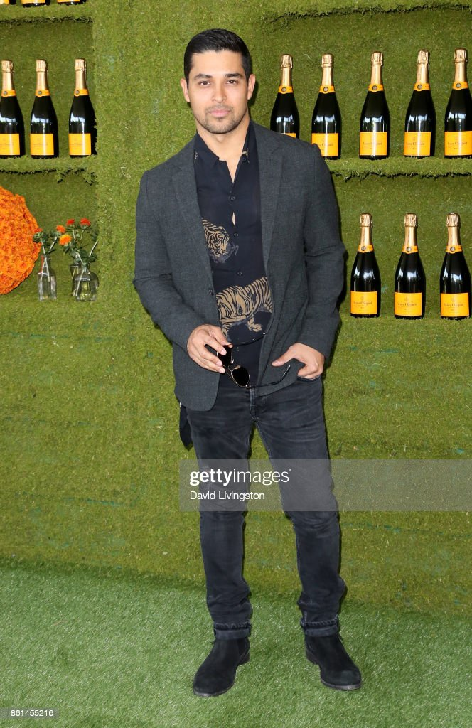 Actor Wilmer Valderrama attends the 8th Annual Veuve Clicquot Polo Classic at Will Rogers State Historic Park on October 14, 2017 in Pacific Palisades, California.
