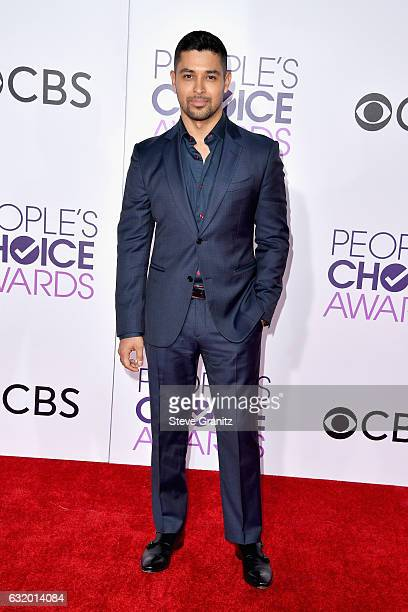 Actor Wilmer Valderrama attends the People's Choice Awards 2017 at Microsoft Theater on January 18 2017 in Los Angeles California