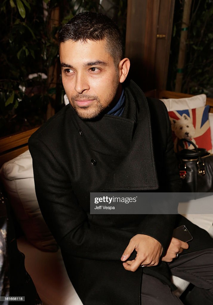 Actor Wilmer Valderrama attends the Topshop Topman LA Opening Party at Cecconi's West Hollywood on February 13, 2013 in Los Angeles, California.