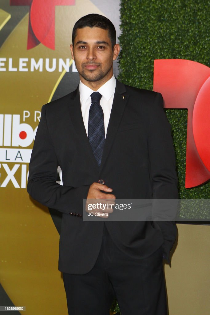 Actor <a gi-track='captionPersonalityLinkClicked' href=/galleries/search?phrase=Wilmer+Valderrama&family=editorial&specificpeople=202028 ng-click='$event.stopPropagation()'>Wilmer Valderrama</a> poses in the press room at The 2013 Billboard Mexican Music Awards at Dolby Theatre on October 9, 2013 in Hollywood, California.
