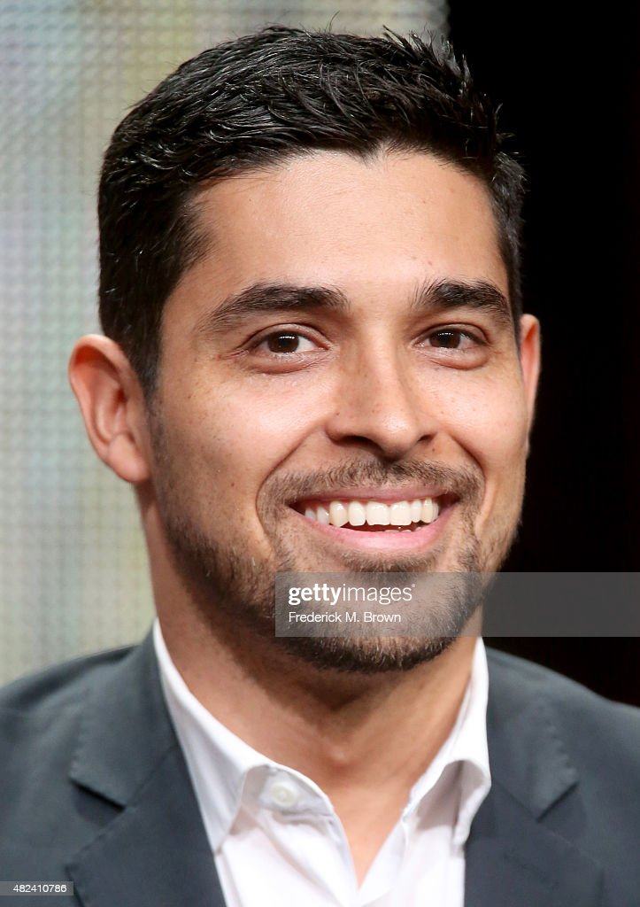 Actor Wilmer Valderrama speaks onstage during the 'From Dusk Til Dawn: The Series' panel discussion at the El Rey Network portion of the 2015 Summer TCA Tour at The Beverly Hilton Hotel on July 30, 2015 in Beverly Hills, California.