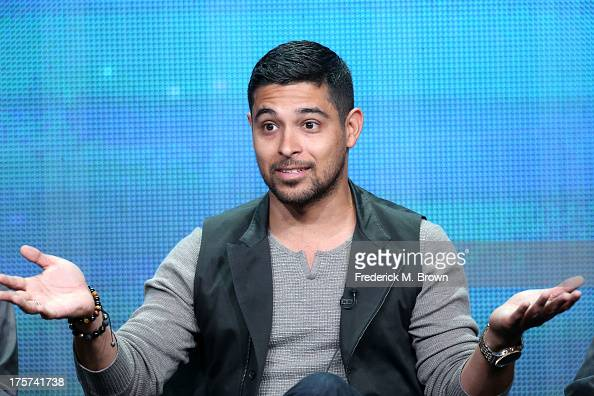 Actor Wilmer Valderrama speaks onstage during 'The Graduates/Los Graduados' panel discussion at the PBS portion of the 2013 Summer Television Critics...