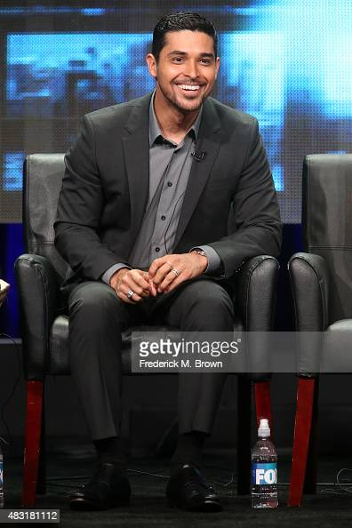 Actor Wilmer Valderrama speaks onstage during the 'Minority Report' panel discussion at the FOX portion of the 2015 Summer TCA Tour at The Beverly...