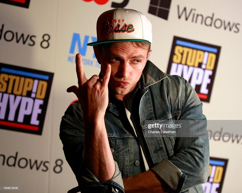 Actor Wilson Bethel attends 'Stupid Hype' Series Premiere at 54 Varick on October 26, 2012 in New York City.