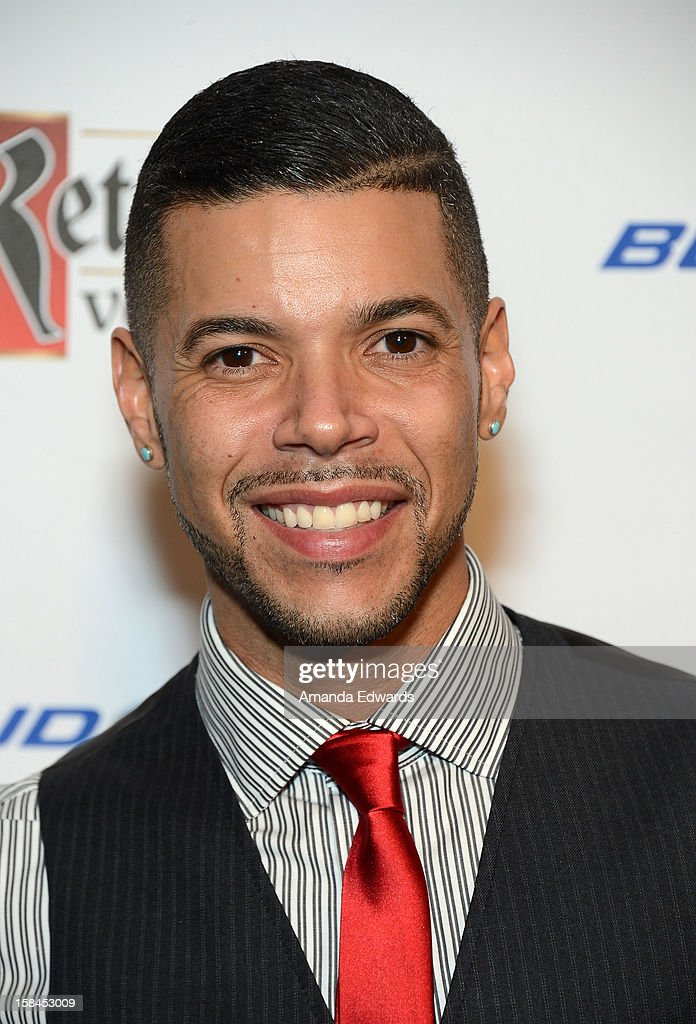 Actor Wilson Cruz arrives at the GLAAD Tidings Annual Holiday Celebration at The London Hotel on December 16, 2012 in West Hollywood, California.