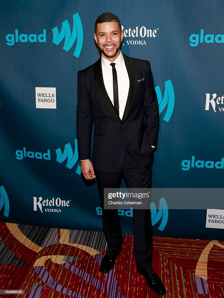 Actor Wilson Cruz attends the 24th annual GLAAD Media awards at The New York Marriott Marquis on March 16, 2013 in New York City.