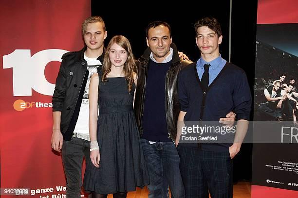 Actor Wilson Gonzalez Ochsenknecht actor Constanze Waechter director Nuran David Calis and actor Leon Pfannenmueller attends the photo call of...