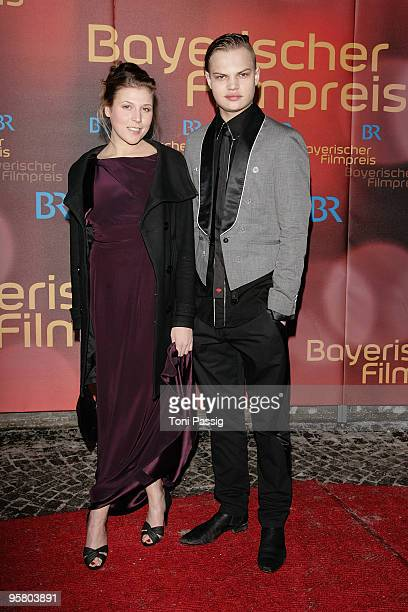 Actor Wilson Gonzalez Ochsenknecht and guest attend the Bavarian Movie Award at Prinzregententheater on January 15 2010 in Munich Germany