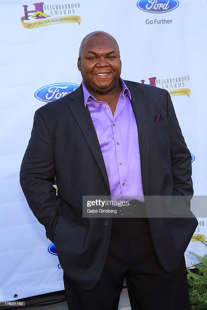 Actor <a gi-track='captionPersonalityLinkClicked' href=/galleries/search?phrase=Windell+Middlebrooks&family=editorial&specificpeople=5646585 ng-click='$event.stopPropagation()'>Windell Middlebrooks</a> arrives at the 11th annual Ford Neighborhood Awards at the MGM Grand Garden Arena on August 10, 2013 in Las Vegas, Nevada.