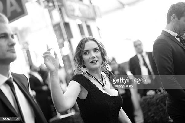 Actor Winona Ryder attends The 23rd Annual Screen Actors Guild Awards at The Shrine Auditorium on January 29 2017 in Los Angeles California 26592_010