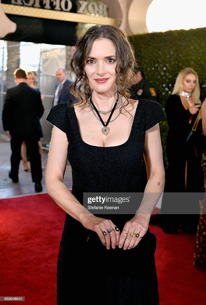 Actor Winona Ryder attends The 23rd Annual Screen Actors Guild Awards at The Shrine Auditorium on January 29, 2017 in Los Angeles, California. 26592_013