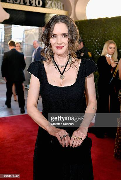 Actor Winona Ryder attends The 23rd Annual Screen Actors Guild Awards at The Shrine Auditorium on January 29 2017 in Los Angeles California 26592_013