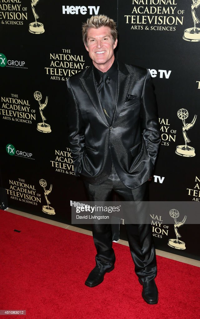 Actor <a gi-track='captionPersonalityLinkClicked' href=/galleries/search?phrase=Winsor+Harmon&family=editorial&specificpeople=235353 ng-click='$event.stopPropagation()'>Winsor Harmon</a> attends the 41st Annual Daytime Emmy Awards at The Beverly Hilton Hotel on June 22, 2014 in Beverly Hills, California.