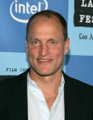 Actor Woody Harrelson arrives at the Los Angeles premiere of 'A Scanner Darkly' during Los Angeles Film Festival at the John Anson Ford Amphitheatre...