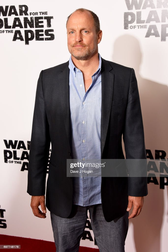 Actor Woody Harrelson attends a screening of 'War For The Planet Of The Apes' at The Ham Yard Hotel on June 19, 2017 in London, England.