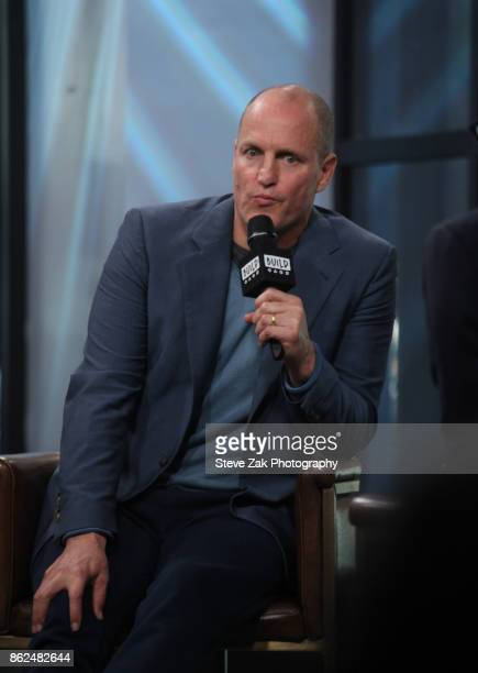 Actor Woody Harrelson attends Build Series to discuss his new film 'LBJ' at Build Studio on October 17 2017 in New York City