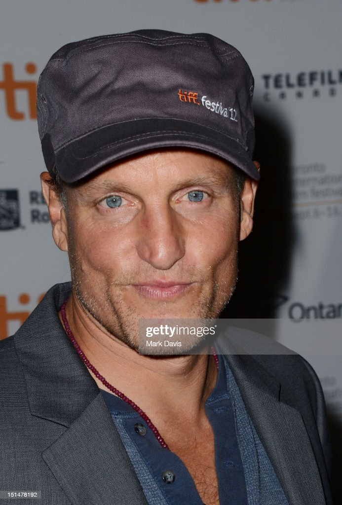 Actor <a gi-track='captionPersonalityLinkClicked' href=/galleries/search?phrase=Woody+Harrelson&family=editorial&specificpeople=208923 ng-click='$event.stopPropagation()'>Woody Harrelson</a> attends 'Seven Psychopaths' premiere during the 2012 Toronto International Film Festival at Ryerson Theatre on September 7, 2012 in Toronto, Canada.