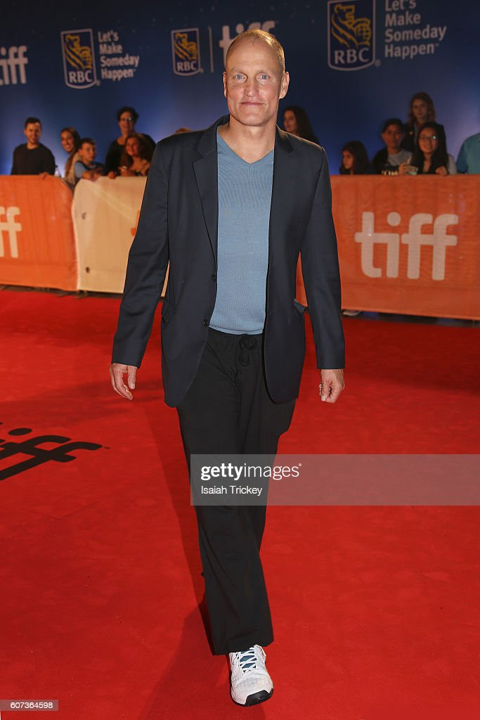 Actor Woody Harrelson attends 'The Edge Of Seventeen' premiere during the 2016 Toronto International Film Festival at Roy Thomson Hall on September 17, 2016 in Toronto, Canada.