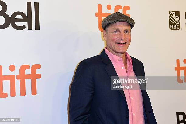 Actor Woody Harrelson attends the 'LBJ' premiere during the 2016 Toronto International Film Festival at Roy Thomson Hall on September 15 2016 in...