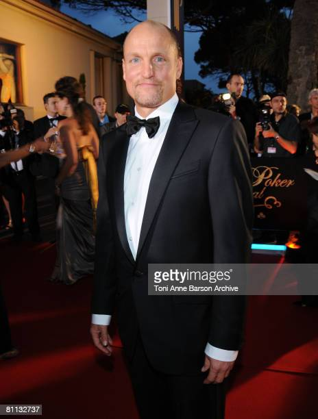 Actor Woody Harrelson attends the Partouche Charity Poker Tournament at Palm Beach during the 61st Cannes International Film Festival on May 17 2008...