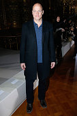 Actor Woody Harrelson attends the Stella McCartney show as part of the Paris Fashion Week Womenswear Fall/Winter 2015/2016 on March 9 2015 in Paris...