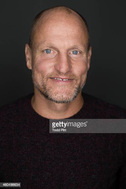 Actor Woody Harrelson is photographed for USA Today on November 21 2014 in New York City