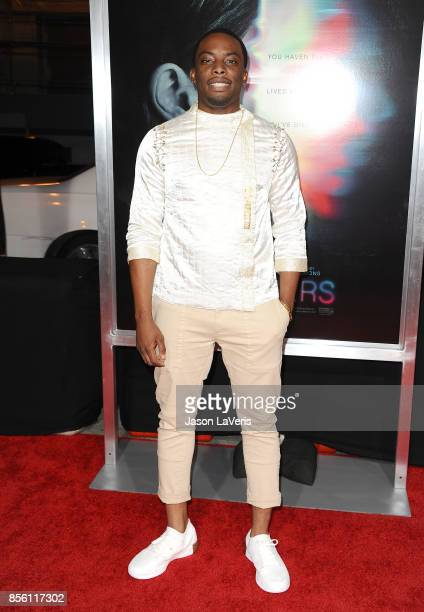 Actor Woody McClain attends the premiere of 'Flatliners' at The Theatre at Ace Hotel on September 27 2017 in Los Angeles California