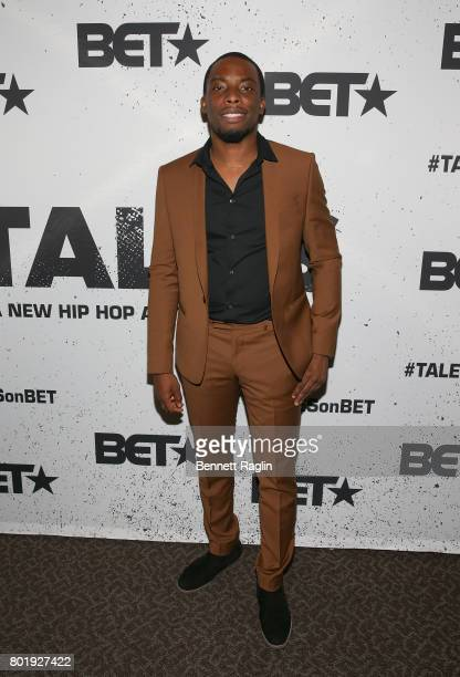 Actor Woody McClain attends the Screening of the BET Series 'Tales' at DGA Theater on June 26 2017 in Los Angeles California