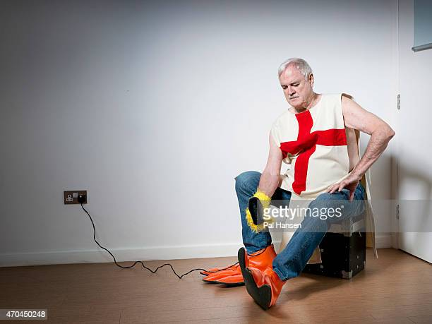 Actor writer and comic John Cleese is photographed for the Sunday Times magazine on September 2 2014 in London England