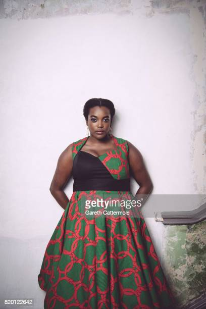 Actor Wunmi Mosaku is photographed on April 24 2017 in London England