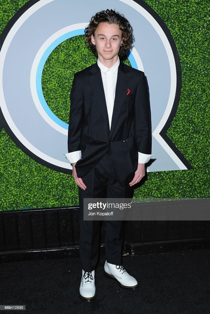Actor Wyatt Oleff attends the 2017 GQ Men Of The Year Party at Chateau Marmont on December 7, 2017 in Los Angeles, California.