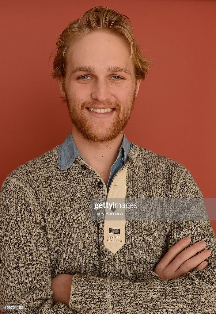 Actor <a gi-track='captionPersonalityLinkClicked' href=/galleries/search?phrase=Wyatt+Russell&family=editorial&specificpeople=861756 ng-click='$event.stopPropagation()'>Wyatt Russell</a> poses for a portrait during the 2013 Sundance Film Festival at the Getty Images Portrait Studio at Village at the Lift on January 18, 2013 in Park City, Utah.