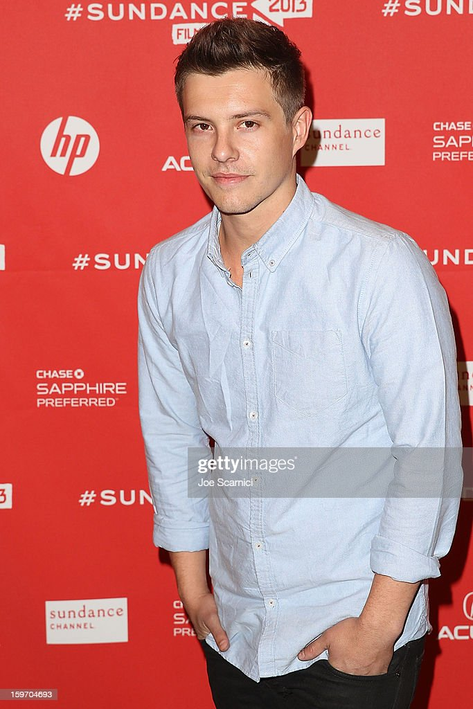 Actor <a gi-track='captionPersonalityLinkClicked' href=/galleries/search?phrase=Xavier+Samuel&family=editorial&specificpeople=5294127 ng-click='$event.stopPropagation()'>Xavier Samuel</a> arrives at the 'Two Mothers' Premiere at the 2013 Sundance Film Festival at Eccles Center Theatre on January 18, 2013 in Park City, Utah.