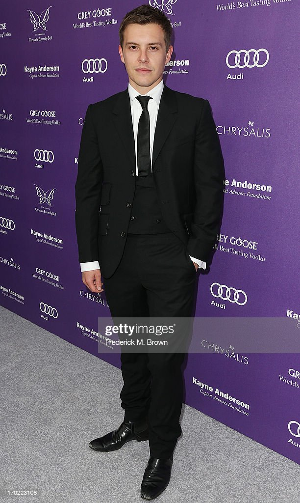 Actor Xavier Samuel attends the 12th Annual Chrysalis Butterfly Ball on June 8, 2013 in Los Angeles, California.
