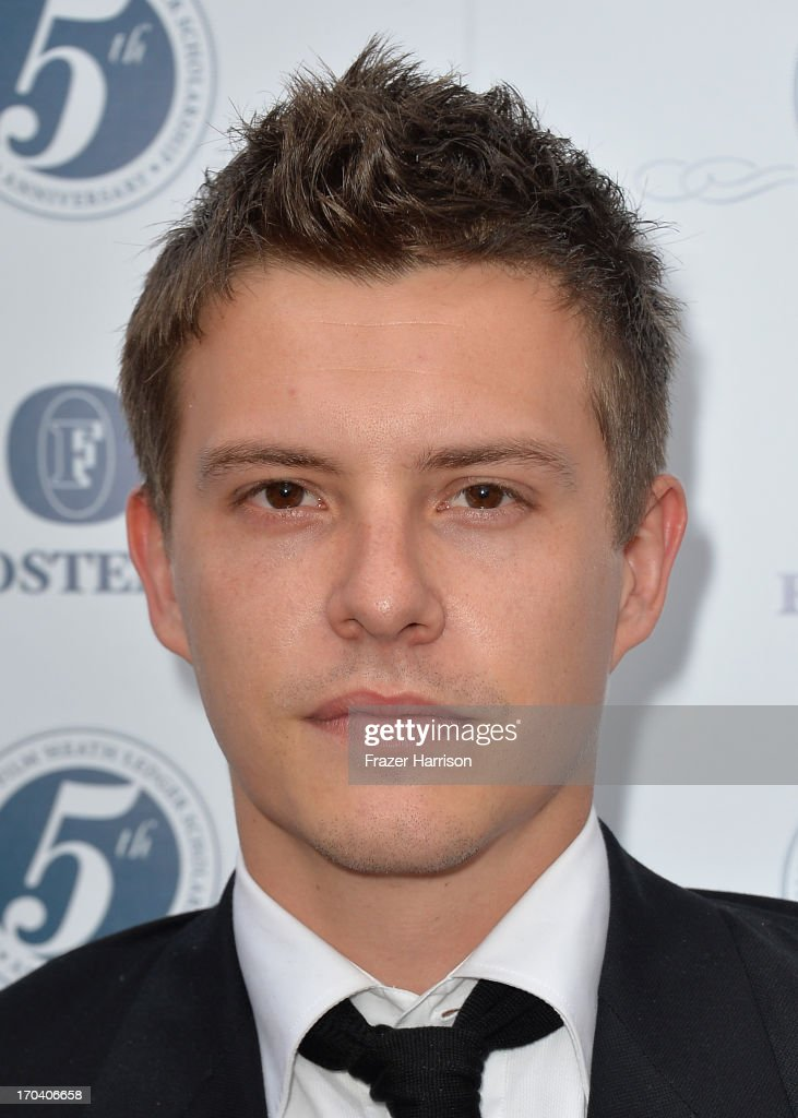 Actor Xavier Samuel attends the Australians In Film and Heath Ledger Scholarship Host 5th Anniversary Benefit Dinner on June 12, 2013 in Los Angeles, California.