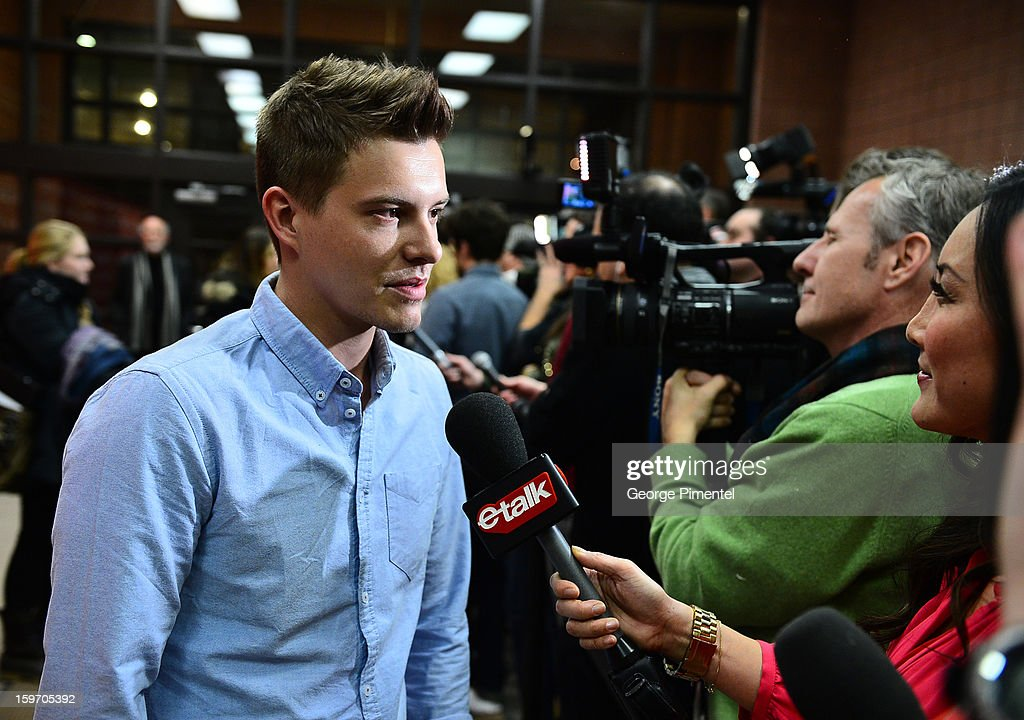 Actor Xavier Samuel attends the 'Two Mothers' Premiere during the 2013 Sundance Film Festival at Eccles Center Theatre on January 18, 2013 in Park City, Utah.
