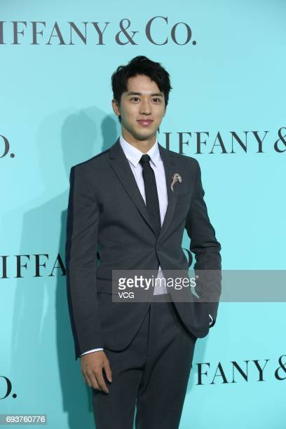 Actor Xu Weizhou arrives at the red carpet of Tiffany Co grand ceremony on June 8 2017 in Beijing China