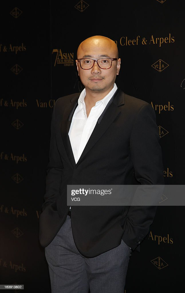 Actor Xu Zheng attends the 7th Asian Film Awards cocktail party at Grand Hyatt Hotel on March 17, 2013 in Hong Kong, Hong Kong.