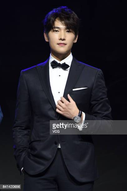 Actor Yang Yang attends the endorsement event of Montblanc on August 31 2017 in Shanghai China