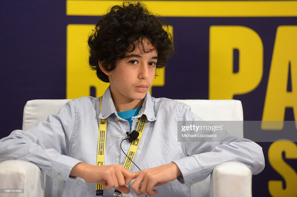 Actor Yanis Bahloul of 'Playground Chronicles' attends the Arab Discussion Press Conference during the 2012 Doha Tribeca Film Festival at the Al Mirqab Boutique Hotel on November 20, 2012 in Doha, Qatar.