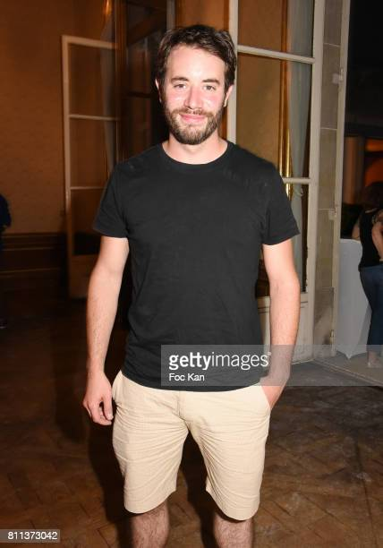 Actor Yaniss Lespert attends Le Jardin L'Experience Party at Le Jardin D'Artois on July 8 2017 in Paris France