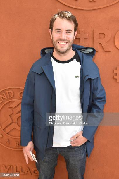 Actor Yaniss Lespert attends the 2017 French Tennis Open_Day Eleven at Roland Garros on June 7 2017 in Paris France