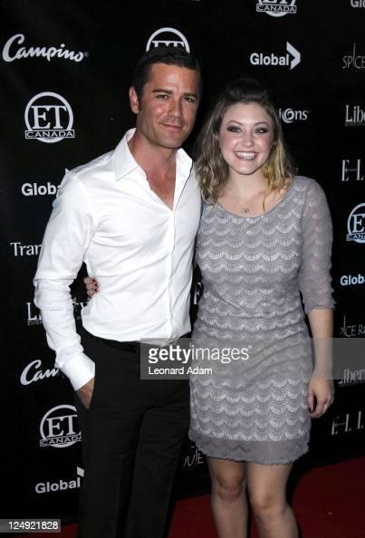 Actor Yannick Bisson and Brianna...