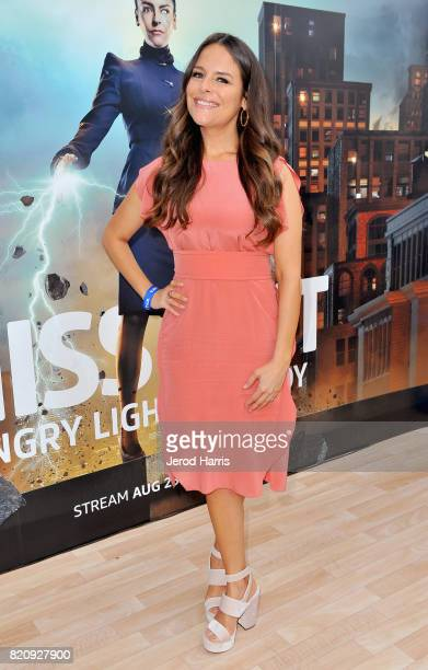 Actor Yara Martinez at Amazon's 'The Tick' Activation Private Experience during ComicCon International 2017 on July 22 2017 in San Diego California