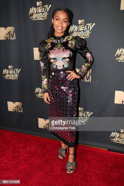 Actor Yara Shahidi attends the 2017 MTV Movie And TV Awards at The Shrine Auditorium on May 7 2017 in Los Angeles California