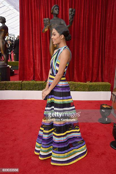 Actor Yara Shahidi attends The 23rd Annual Screen Actors Guild Awards at The Shrine Auditorium on January 29 2017 in Los Angeles California 26592_009