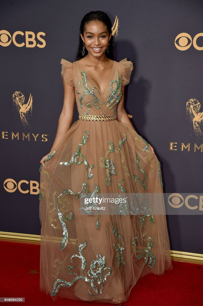 Actor Yara Shahidi attends the 69th Annual Primetime Emmy Awards at Microsoft Theater on September 17, 2017 in Los Angeles, California.