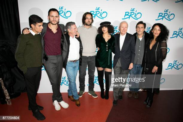 Actor Yasin Houicha producer Benjamin Elalouf actor Daniel Auteuil producer Dimitri Rassam actress Camelia Jordana Jerome Seydoux director Yvan Attal...